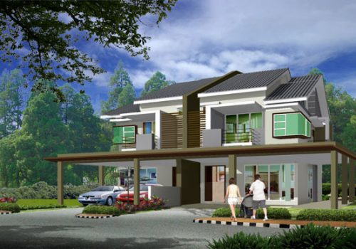 Double Storey Semi Detached